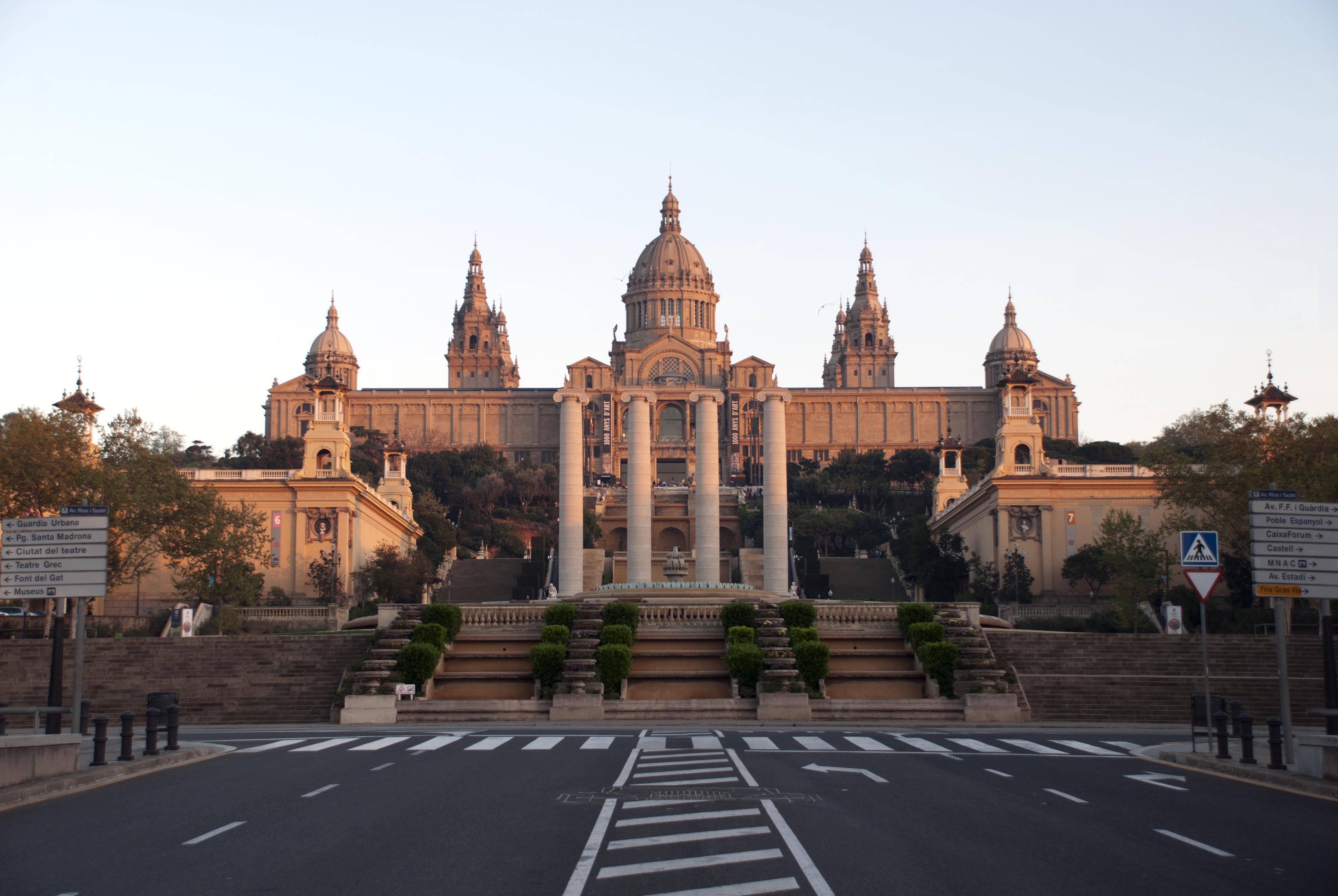 Spain_Catalonia_Barcelona_MontJuic_Puig_i_Cadafalch_Columns