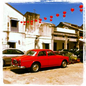 Vintage vibe in Penang, Malaysia