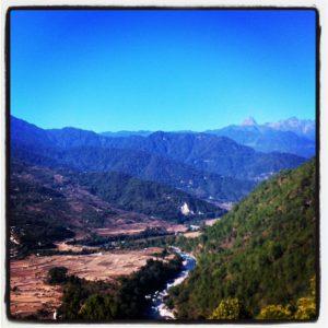 View from Uma Punakha, Bhutan