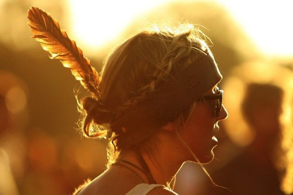 A feather in our (music festival) cap