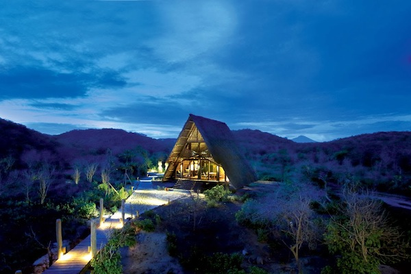 Now that's what we call glamping!