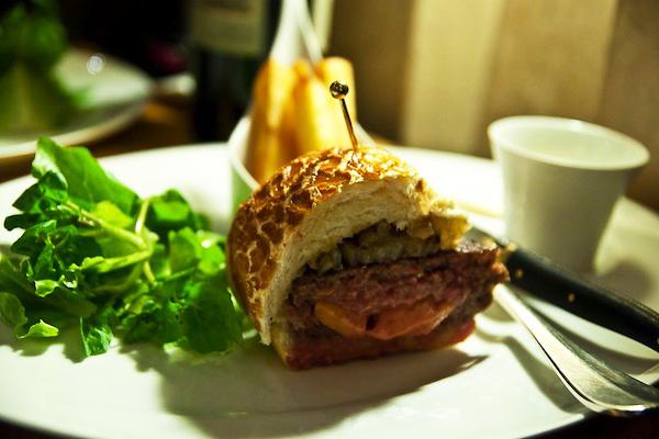 The very famous Foie Gras Burger!