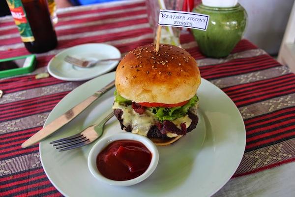 The Weatherburger.