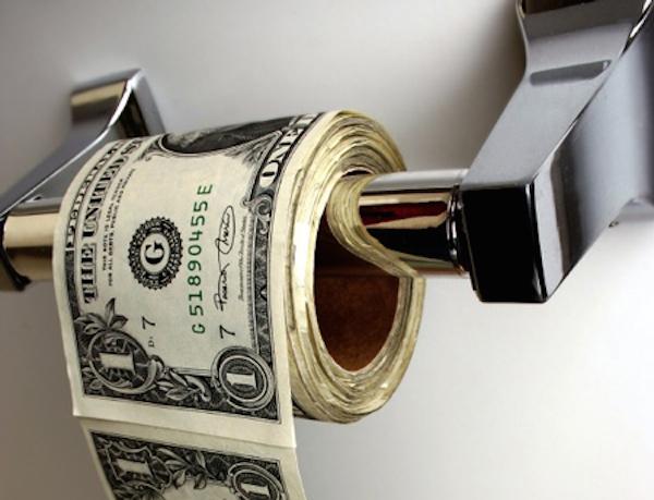 Toilet business is good money.