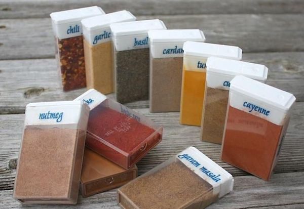 Spice rack in your bag! Nifty.