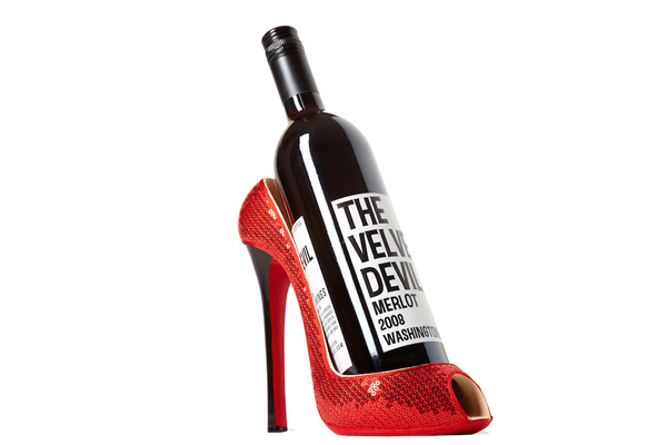 Or use them as a wine stand, no one's gonna judge if it's Louboutin.