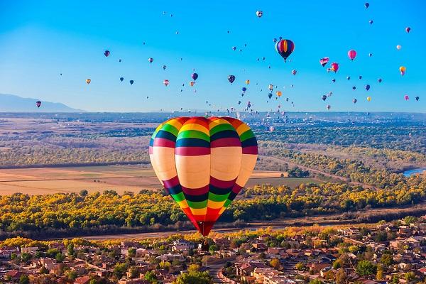 A ballooner's ultimate paraadise.