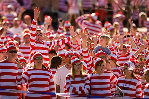 Well, look at the bright side... at least Google Street View has made it easier for us to spot Waldo.