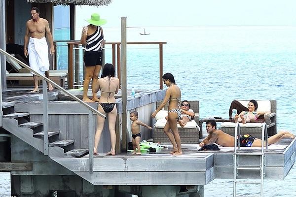 Bora Bora keeps up with the Kardashians.