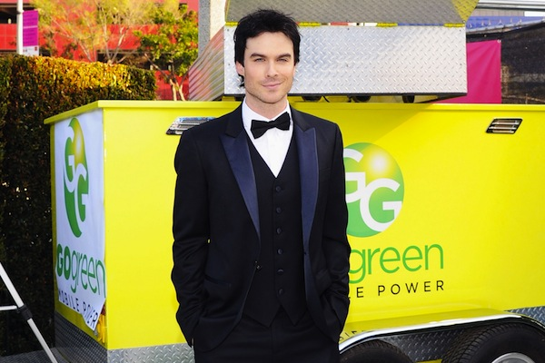 Saving Mother Earth will create a stronger bond between you and Ian Somerhalder. No one's complaining.