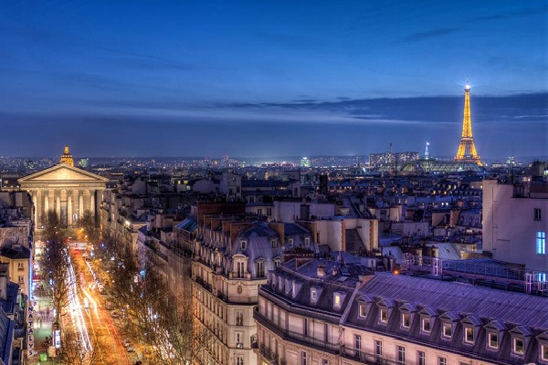The view here trumps the one you get at the Eiffel Tower!