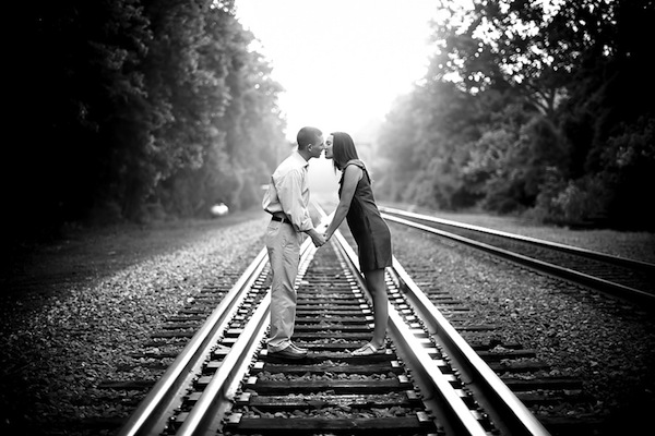 When we say rail romance, we actually mean... get on the train, not on the tracks!
