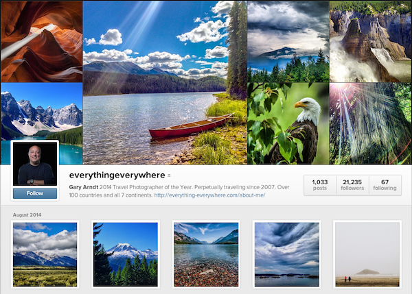 The Instagram account to beat all.