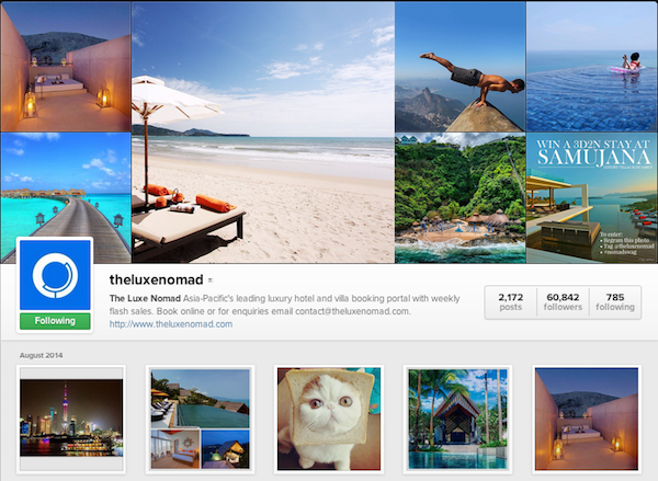 Follow us for more villas and cat-in-breads.