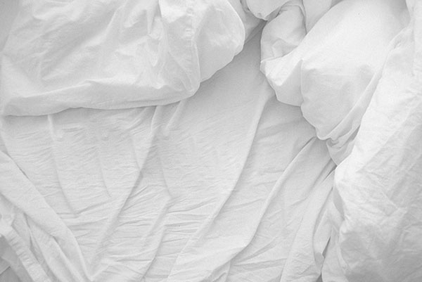 White sheets are cooler than black.
