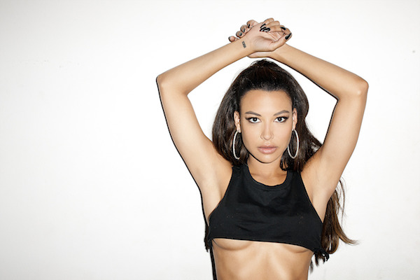 Naya's been burning hot red recently, and Glee's not the reason.