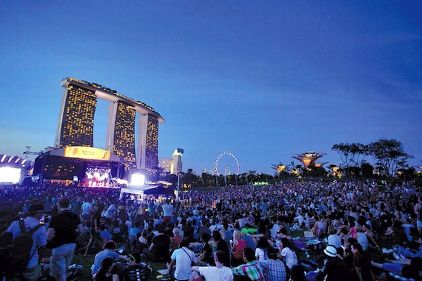 Revel in music - in this city of blinding lights.