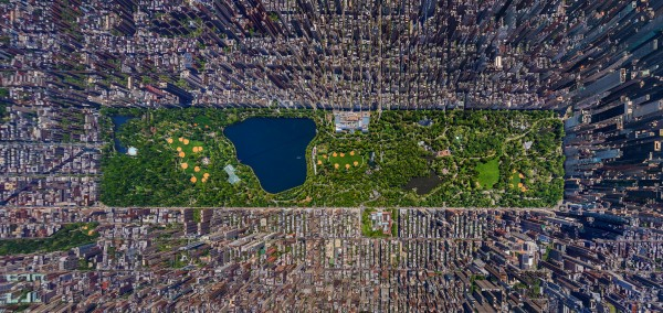 A bird's eye view of the Big Apple!