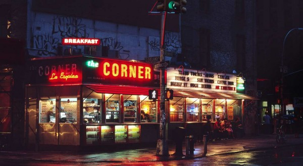 The definition of diner
