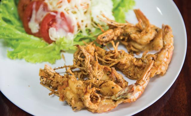 Said crispy prawns. Ccrrrunnchhhh.