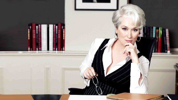 Imagine going on holiday with Miranda Priestly.