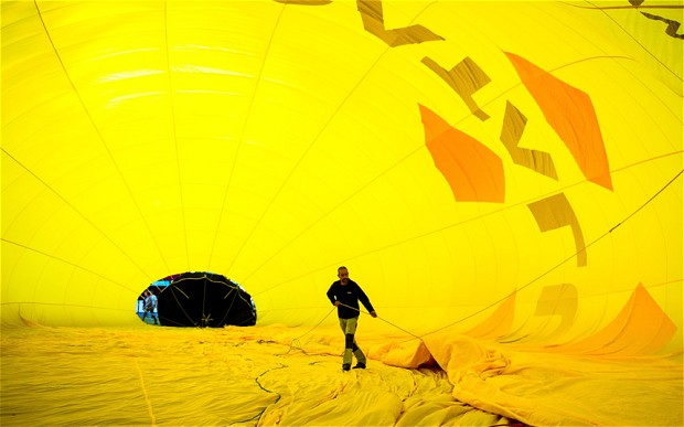 Inflation is getting bigger, faster than this big yellow balloon.