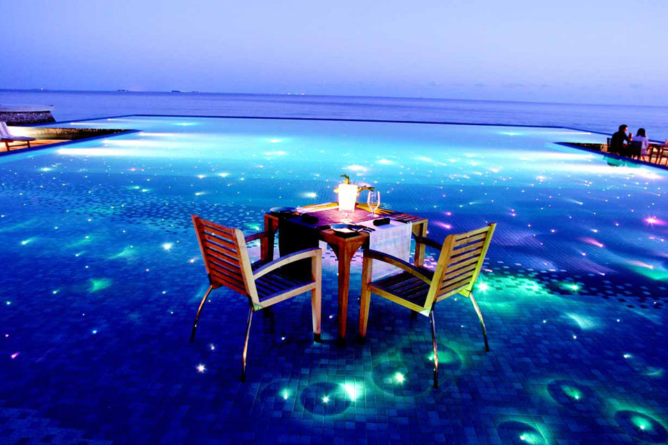 This is the Maldives. It may be gone submerged by the time you reach your life goals.