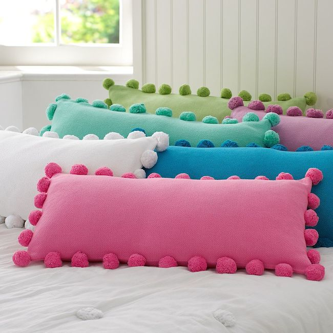Pillows make a world of a difference.