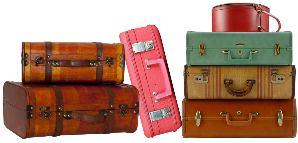 If we brought 2 suitcases would our year be twice as nomadic?