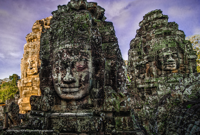 Find your doppelganger at Bayon temple