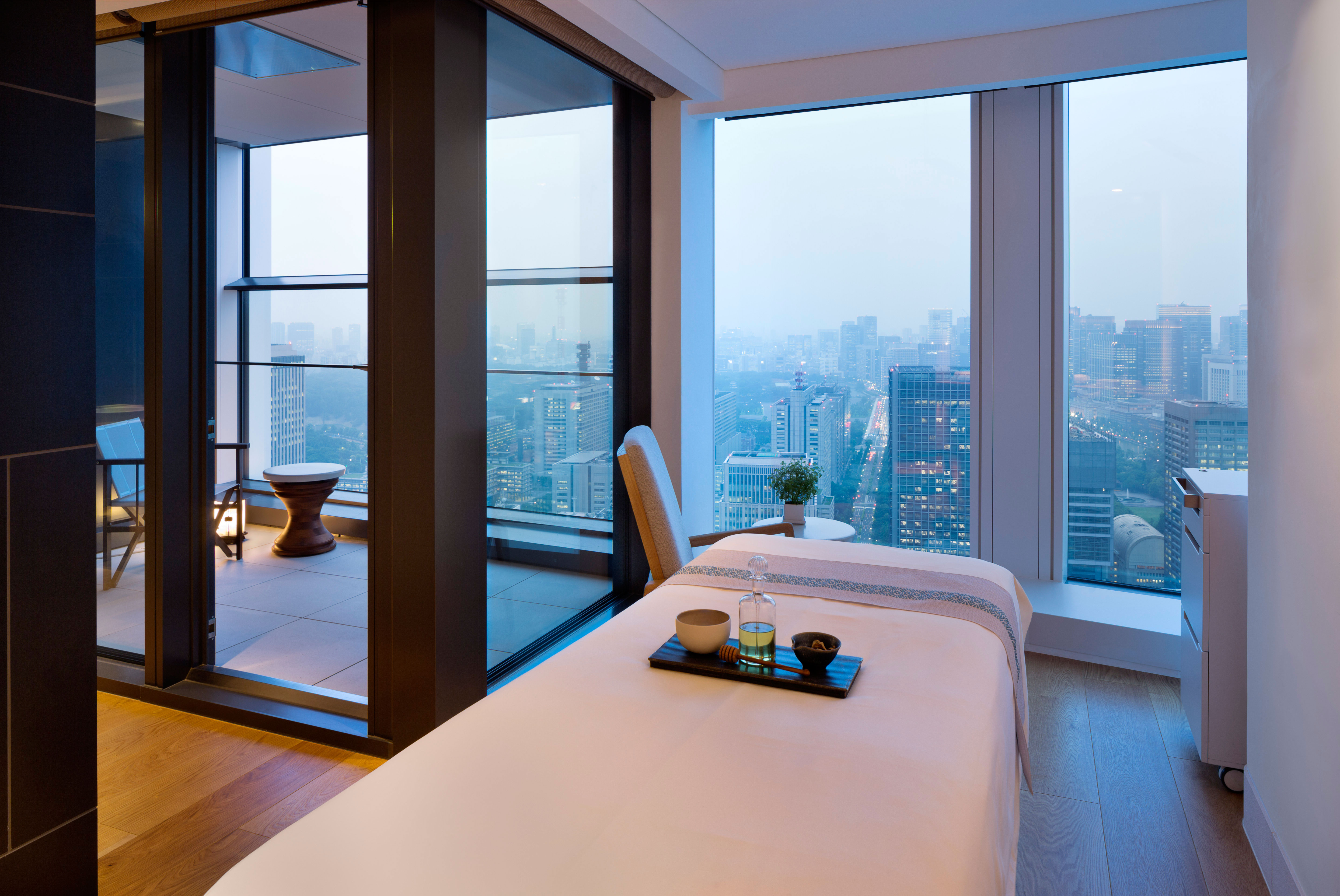 A must: R&R at the OA Spa & Club.