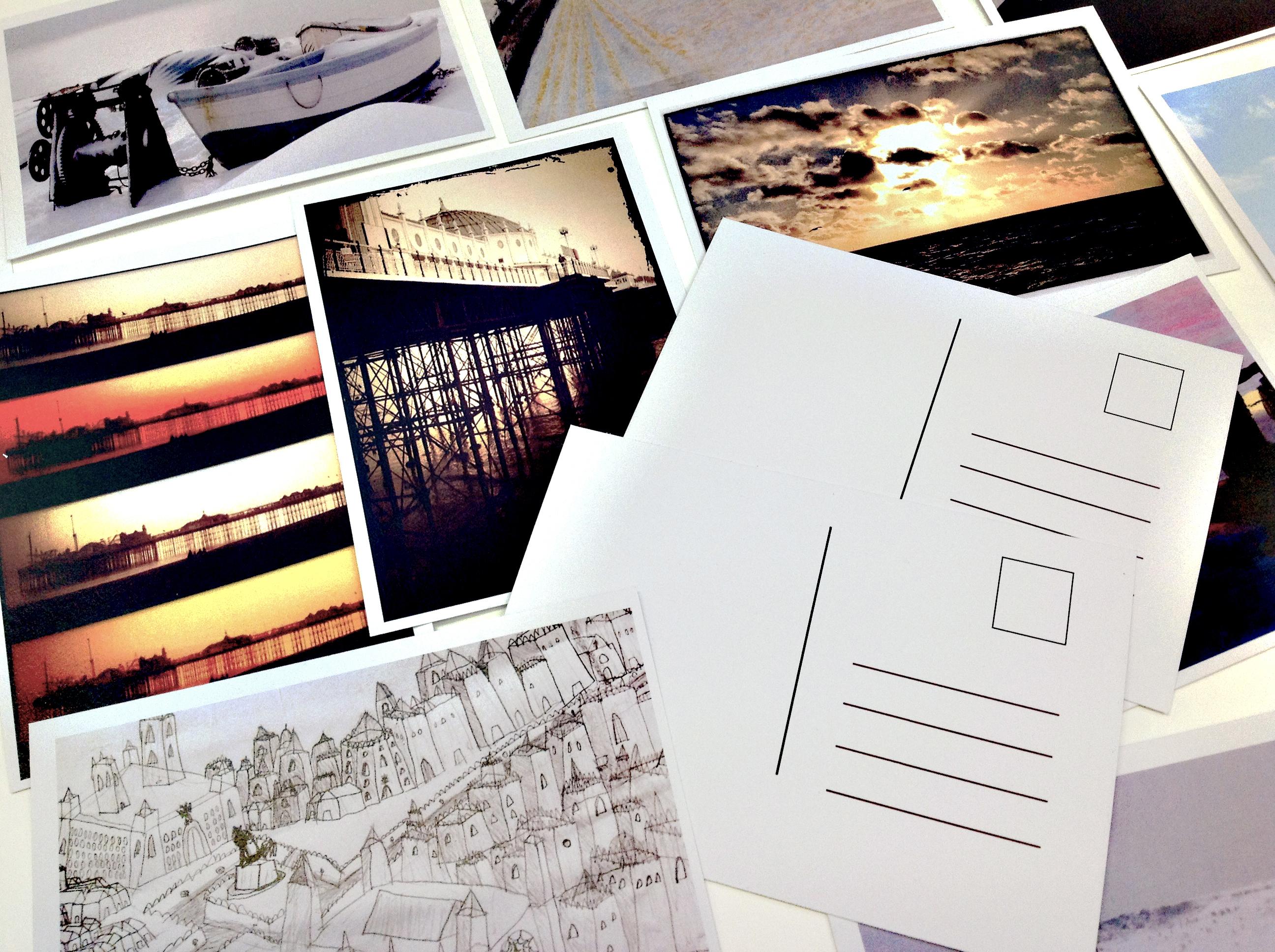 Or postcards for when thereisn'tWi-Fi!