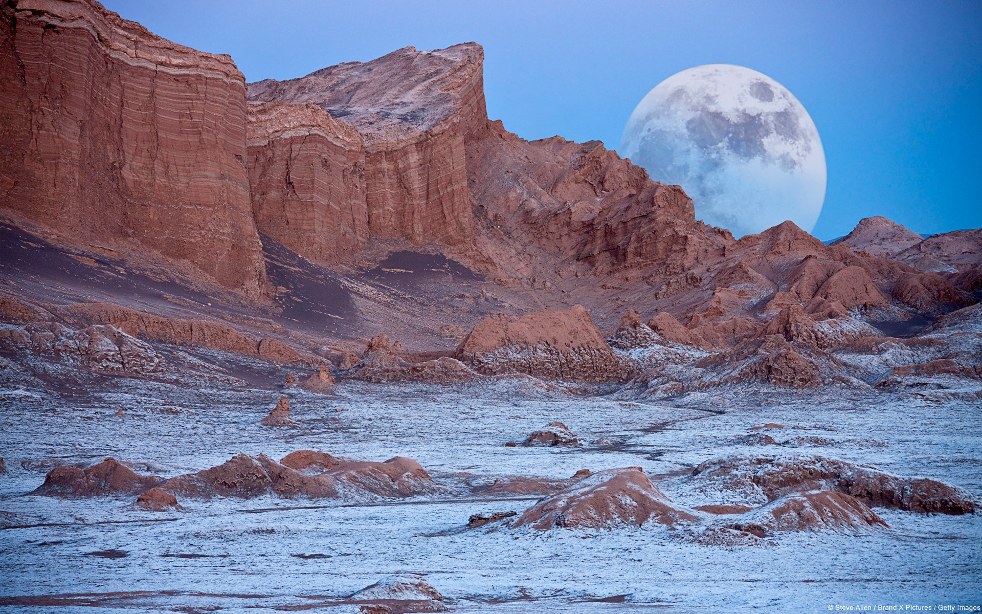 The Valley of the Moon (Valle de la Luna), Cordillera de la Sal,