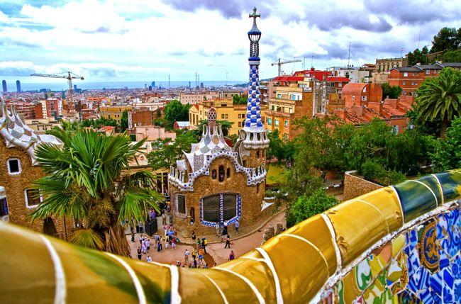 The Sagrada Familia isn't Barcelona's only cool architecture
