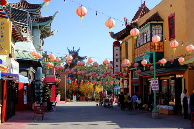 It's just one massive Chinatown