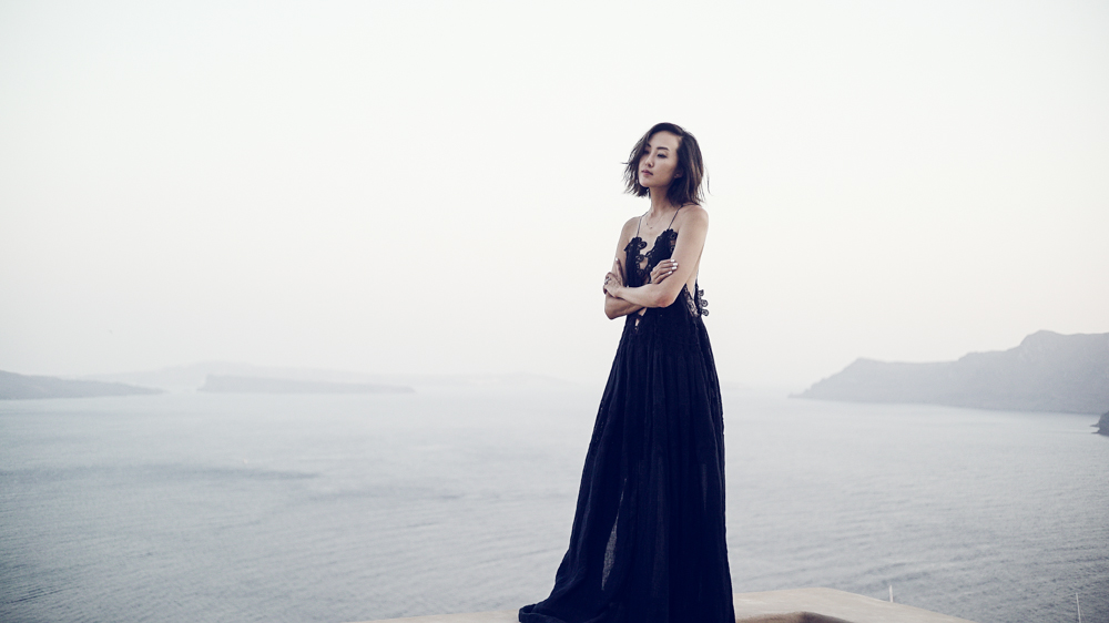 Now that's a dress (and view)!