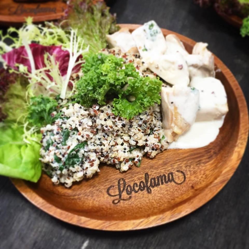 Organic food never tasted so good