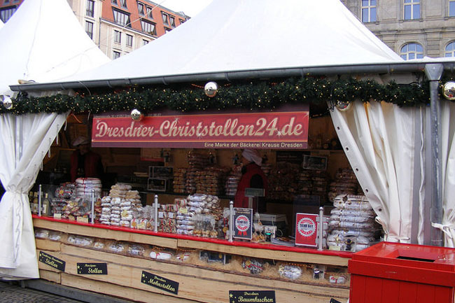 You've never tasted fruitcake unless you've tried the one from Striezelmarkt