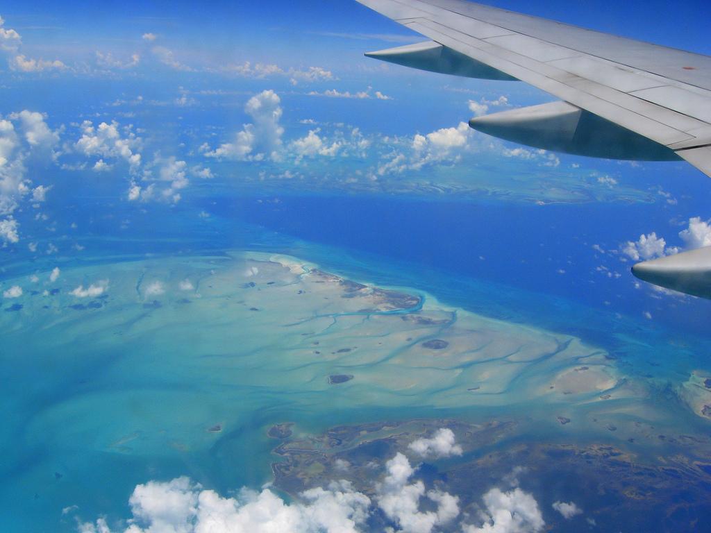 Aerial View II of Bahamas taken in 2007Malinda Melton VagaskyWOD submission