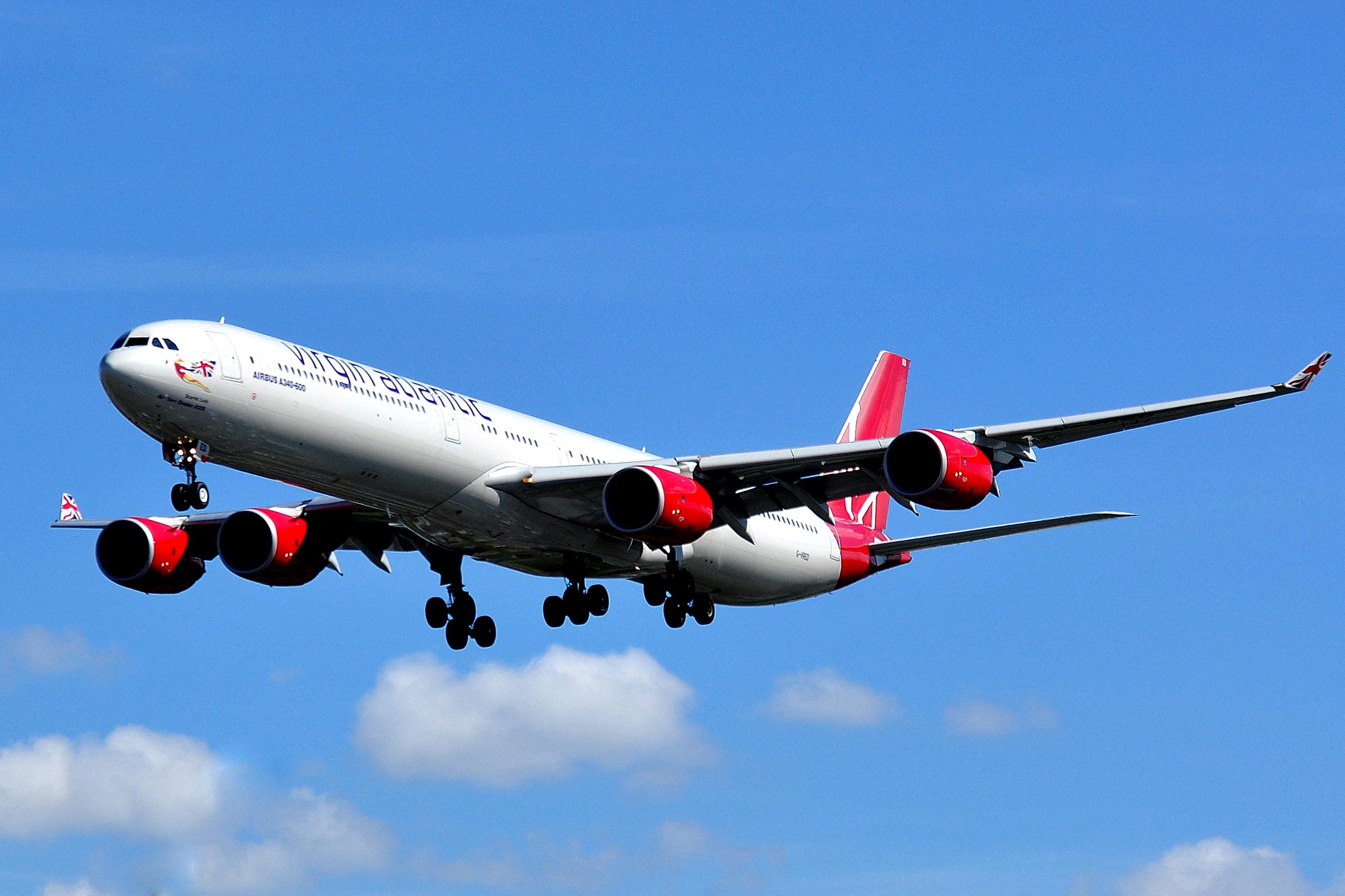 Airbus A340-642 - Virgin Atlantic Airways (G-VRED)