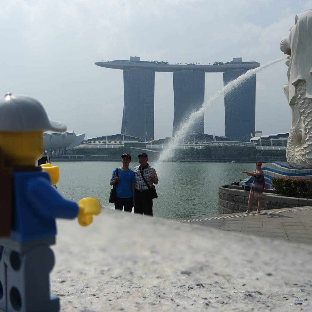 And got the mandatory Singapore shot!