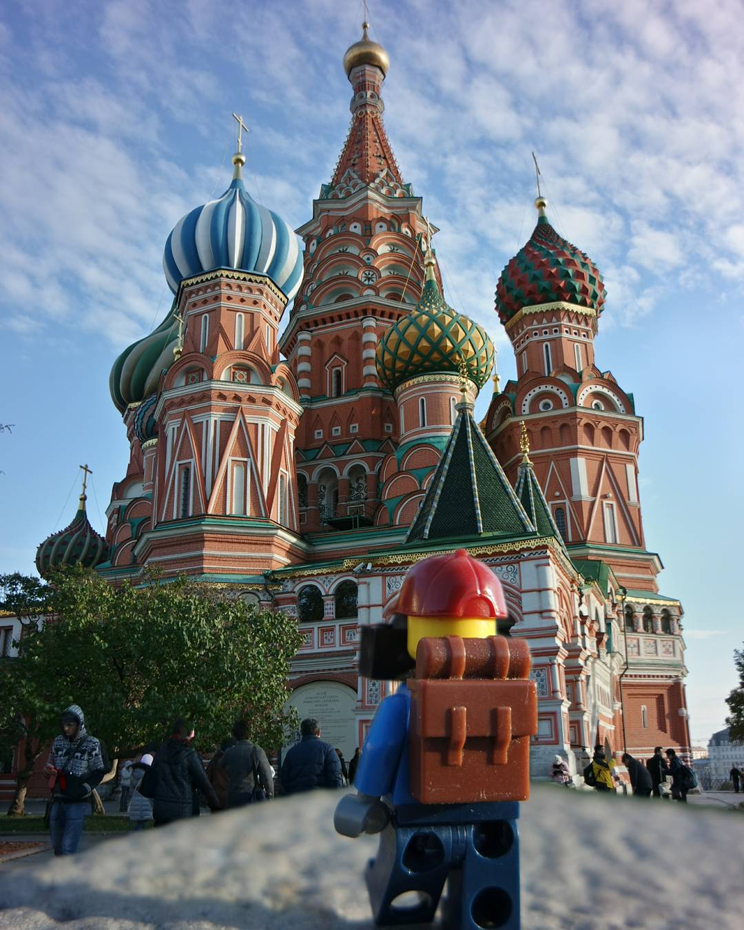 Found the Saint Basil's Cathedral in Moscow