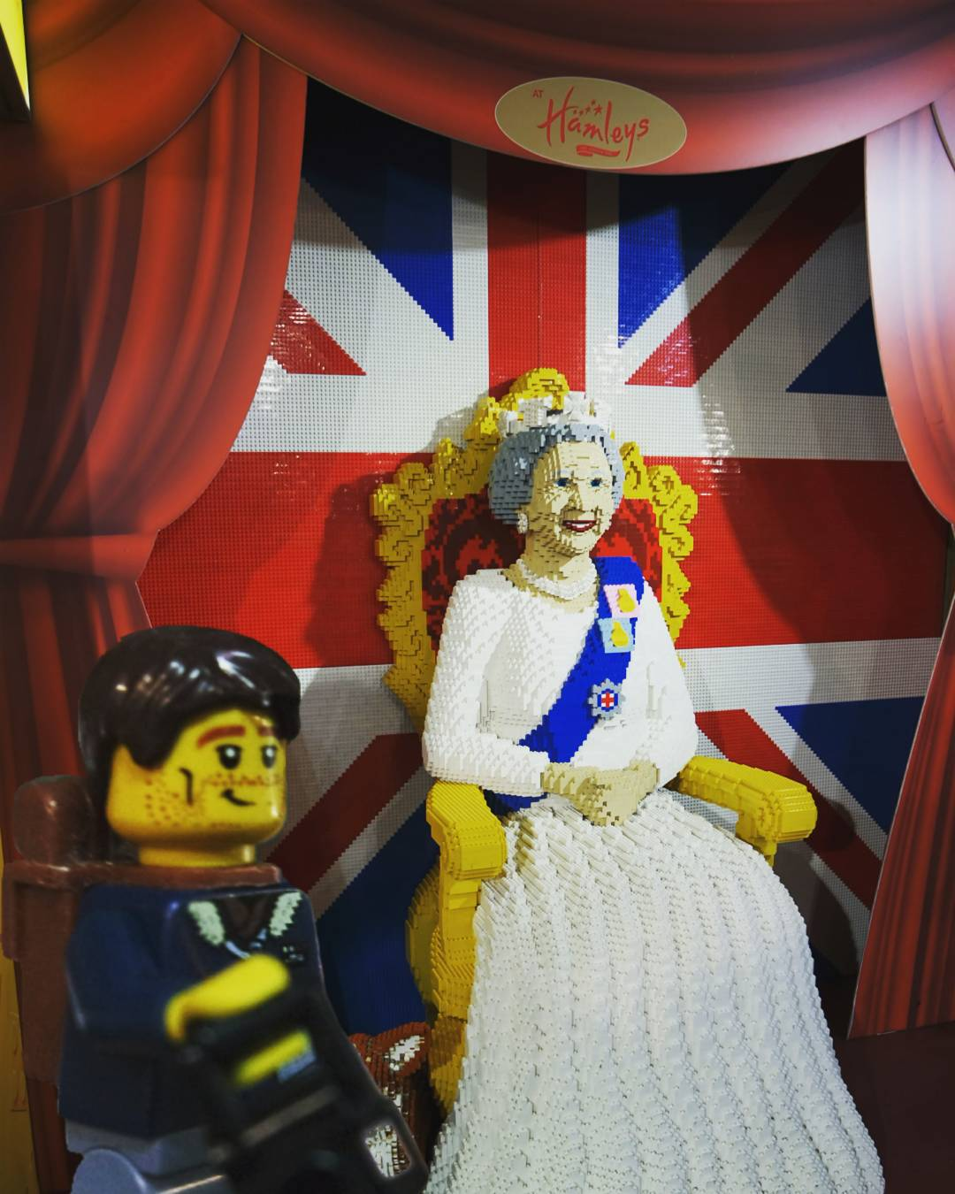 Found the Lego Queen in Hamleys Toy Store, London, England