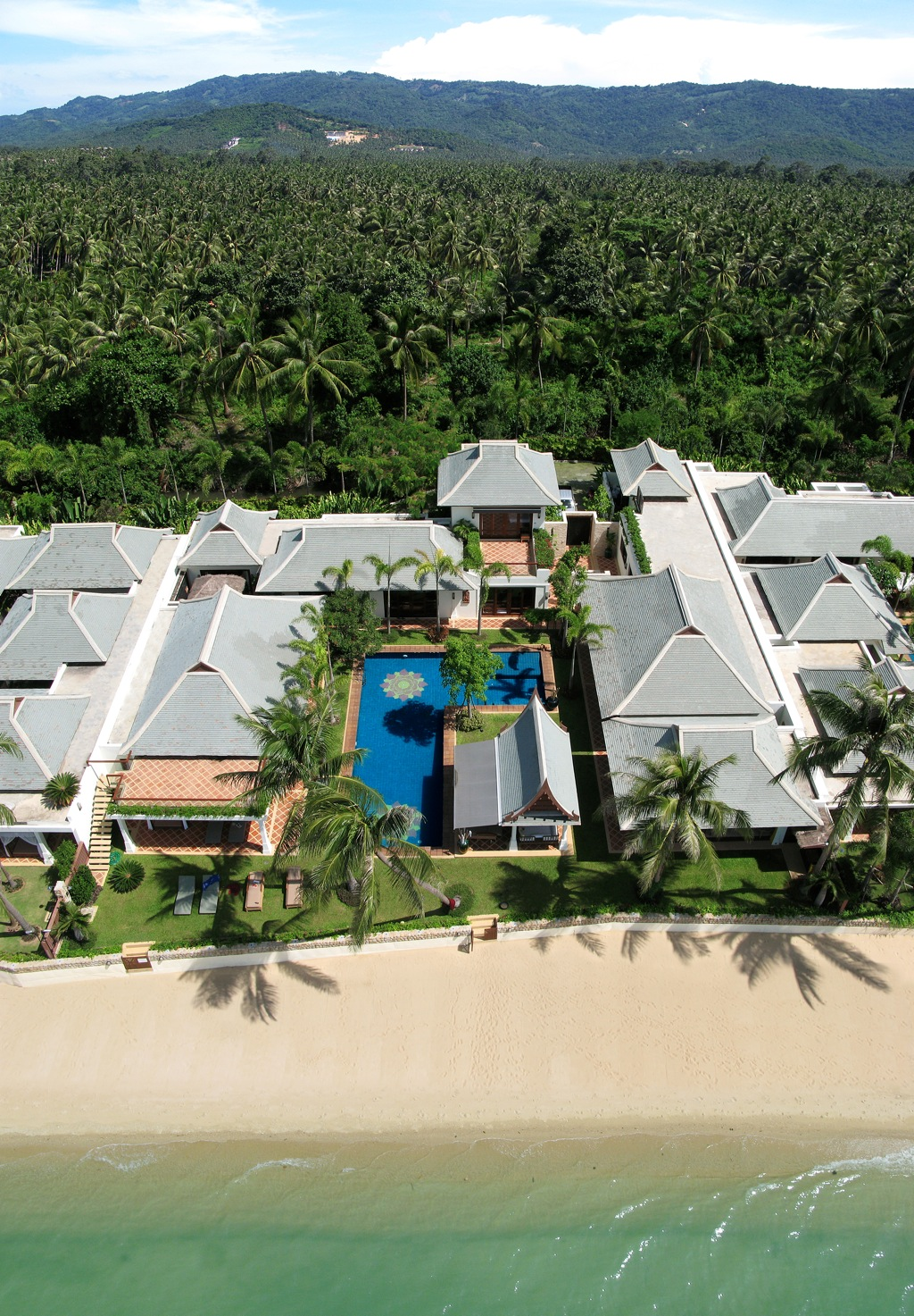 Villa Lotus from above looking south copy