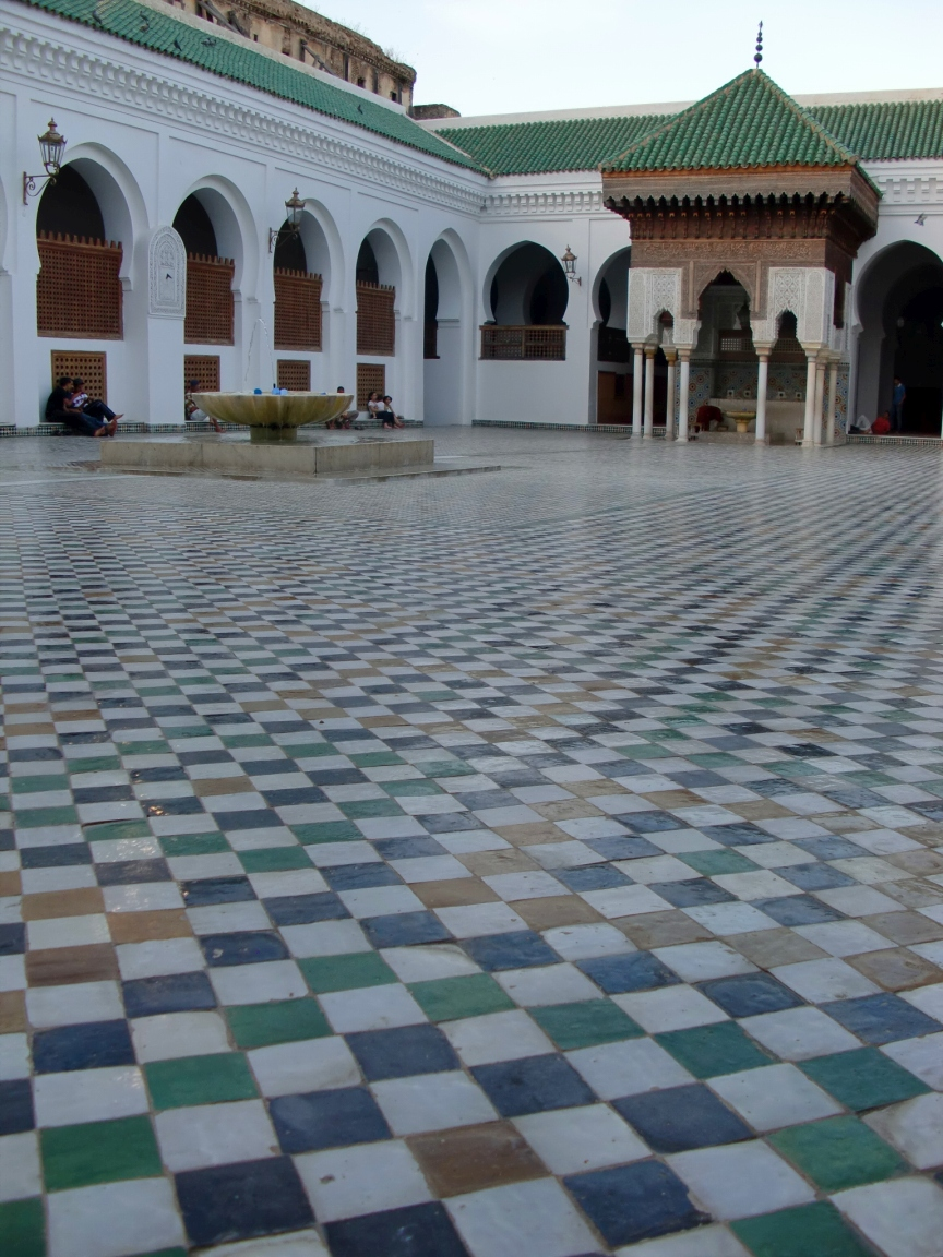 al-karaouine_university_al-qarawiyyin_in_the_city_of_fes_morocco_image_3_of_9