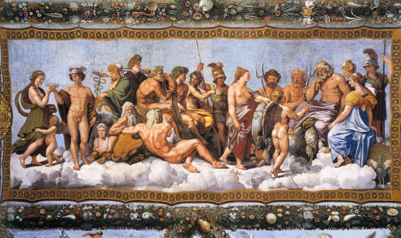 Loggia di Psiche, 1518–19, by Raphael