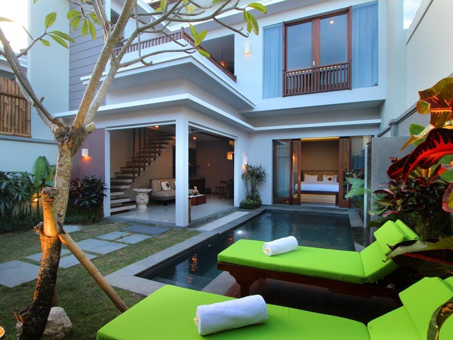 Modern 1 and 2 bedroom pool villas