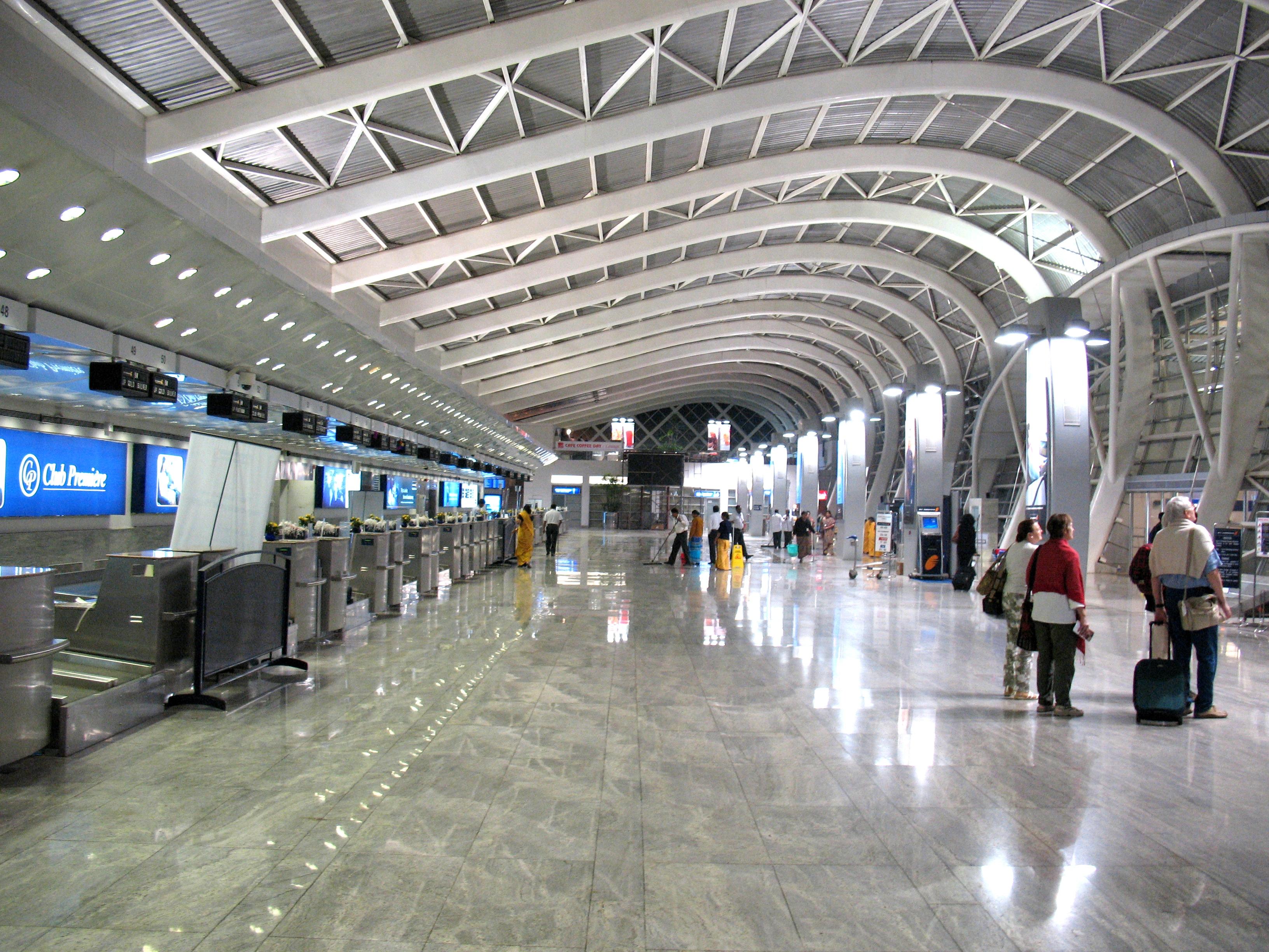 Chhatrapati Shivaji International Airport in Mumbai