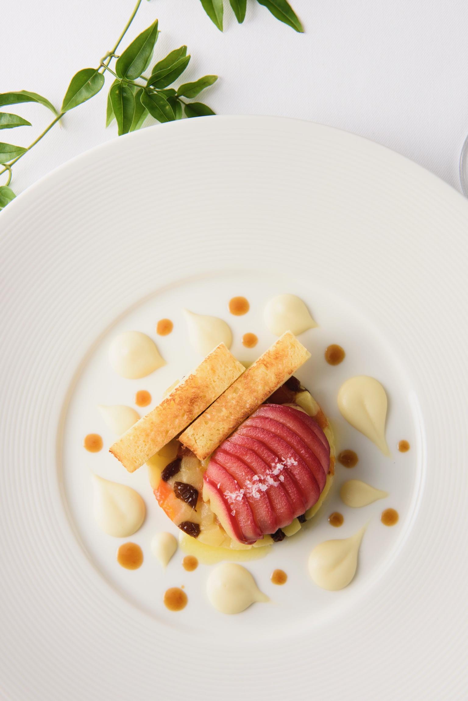 steamed-apple-foie-gras