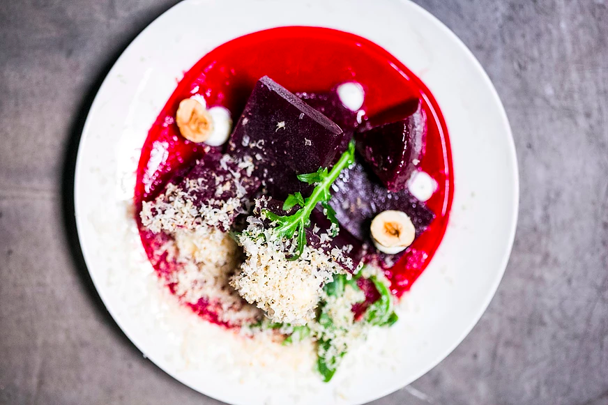 Who knew beets could look this good?